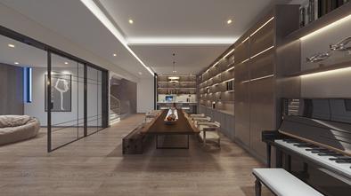 130平米三室三厅现代简约风格健身室设计图