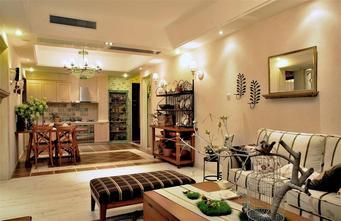 100平米四室一厅田园风格客厅欣赏图