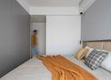90平米三室三厅北欧风格卧室图片