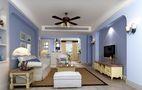 140平米四室四厅地中海风格其他区域图