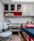 90平米三室两厅美式风格儿童房效果图