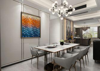 140平米三室两厅混搭风格餐厅图