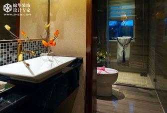 90平米三室两厅东南亚风格卫生间欣赏图
