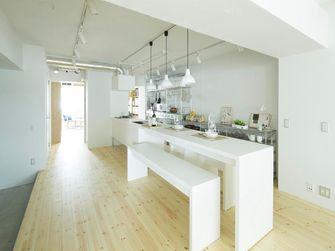 120平米三室一厅日式风格厨房图片大全