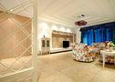 80平米一居室地中海风格客厅装修图片大全
