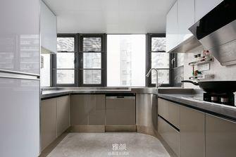 140平米四室一厅现代简约风格厨房欣赏图