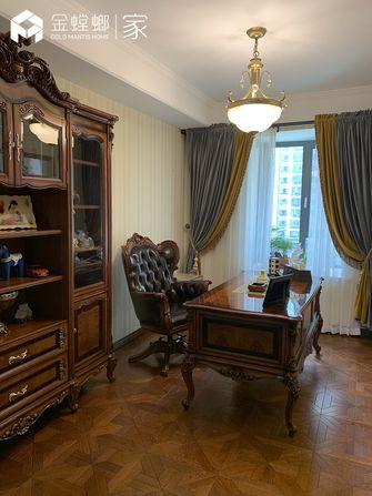 20万以上140平米四室两厅新古典风格书房图片