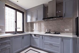 140平米三室一厅美式风格厨房装修案例