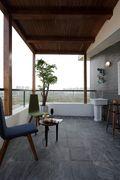 100平米复式东南亚风格阳台装修效果图