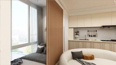 50平米一室一厅混搭风格客厅图