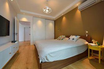 80平米三室一厅宜家风格卧室装修案例