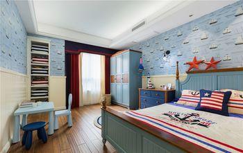 80平米三田园风格卧室图片大全