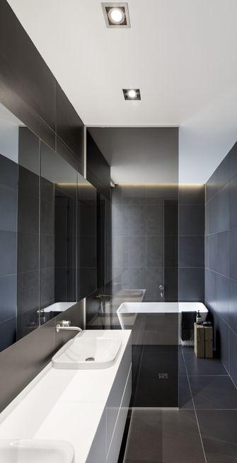 90平米三室两厅现代简约风格卫生间图片