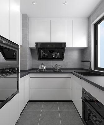120平米三室两厅中式风格厨房设计图