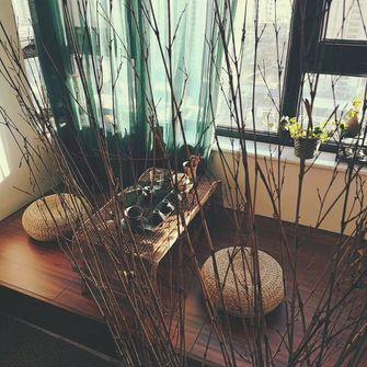 80平米日式风格阳光房设计图
