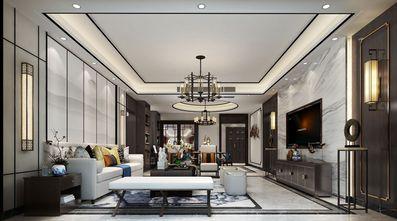 140平米四室一厅新古典风格客厅图