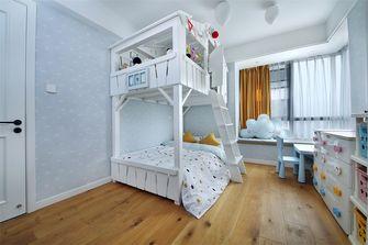 80平米三室两厅东南亚风格儿童房设计图