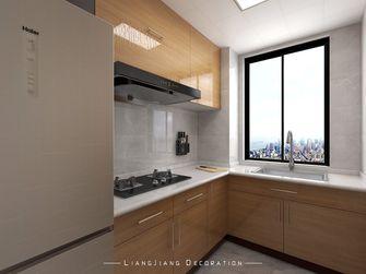 100平米三室一厅日式风格厨房装修图片大全