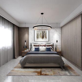 140平米三室两厅英伦风格卧室设计图