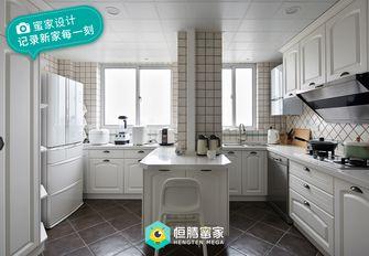 130平米美式风格厨房图片