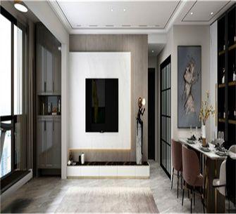 120平米三室两厅现代简约风格玄关图