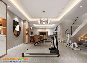 140平米别墅混搭风格健身室装修案例