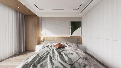 140平米复式北欧风格卧室装修图片大全