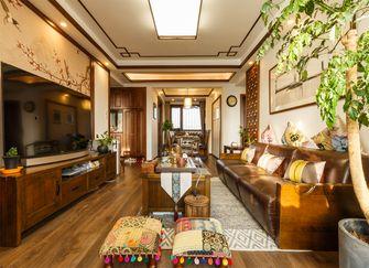 90平米中式风格客厅设计图