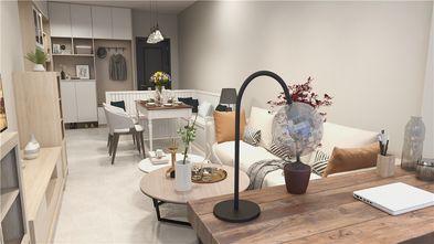50平米现代简约风格餐厅图