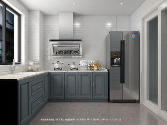 130平米四室两厅美式风格厨房图