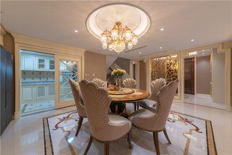 140平米别墅英伦风格餐厅装修图片大全