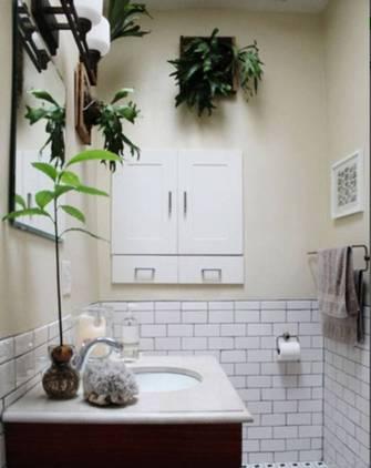 现代简约风格植物效果图
