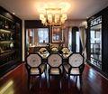 80平米三室一厅新古典风格餐厅设计图