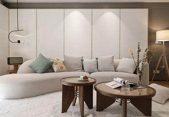 140平米三室两厅日式风格客厅图片