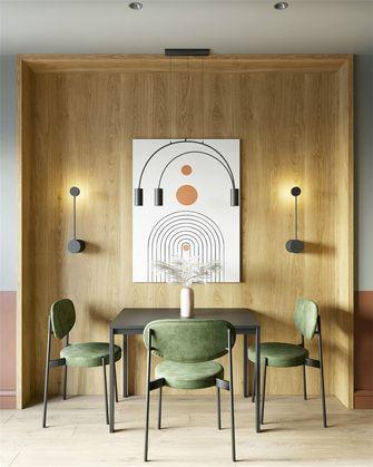 70平米一室一厅美式风格餐厅图片
