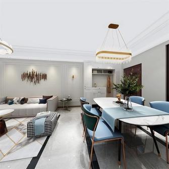 80平米三室两厅宜家风格餐厅效果图