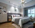 140平米三室五厅现代简约风格卧室效果图