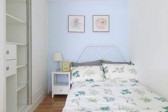 70平米三室两厅北欧风格卧室装修图片大全