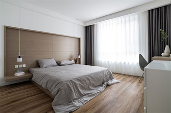 100平米三现代简约风格卧室效果图