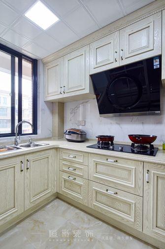 豪华型130平米三室两厅新古典风格厨房欣赏图