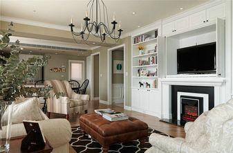 90平米三室三厅美式风格客厅图片