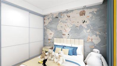 80平米三室两厅北欧风格儿童房图片大全