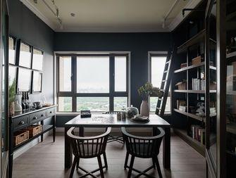 120平米三室两厅英伦风格书房装修效果图