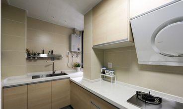100平米复式现代简约风格厨房图片大全