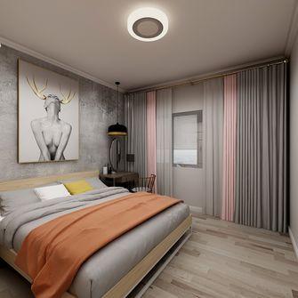 90平米三室两厅混搭风格卧室图