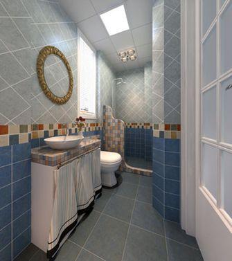 60平米公寓地中海风格卫生间装修效果图