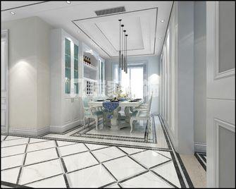 140平米四美式风格餐厅欣赏图