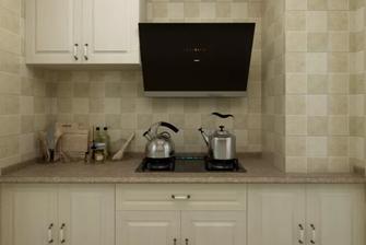 130平米三田园风格厨房效果图