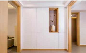 130平米三室两厅日式风格玄关图片