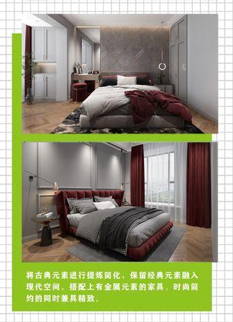 90平米中式风格卧室装修效果图